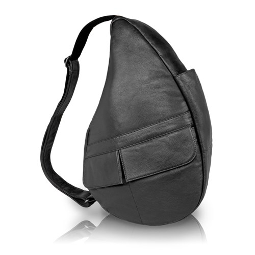 AmeriBag Classic Leather Healthy Back Bag  Small Sling
