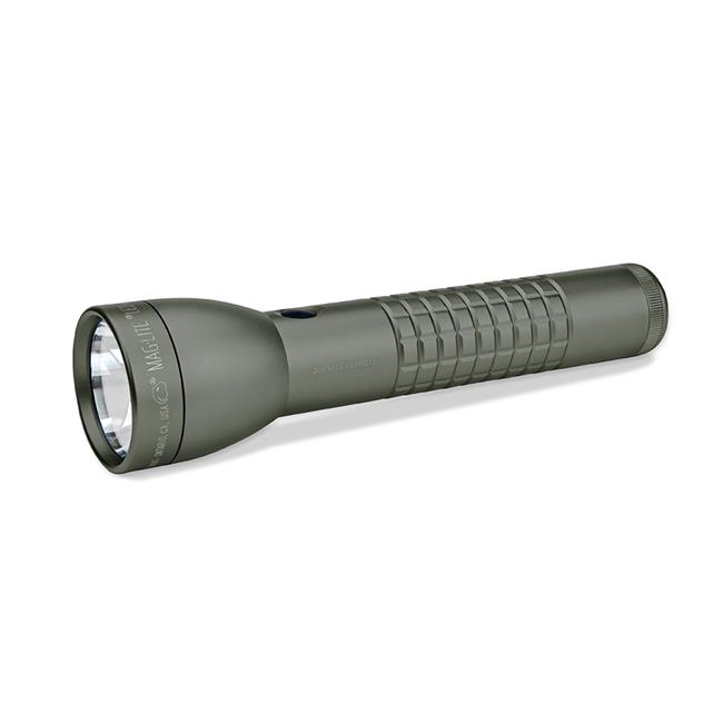 Mag Instrument ML300LX-S2RI6 Magled Ml300Lx 2D Cell Multi Mode Switch Knurled Design, Foliage Green by MAG Instrument