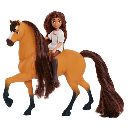 Spirit Riding Free Small Doll and Horse Set - Lucky & Spirit