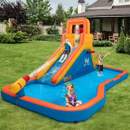 Inflatable Splash Water Bounce House Jump Slide Bouncer Kid  Without Blower