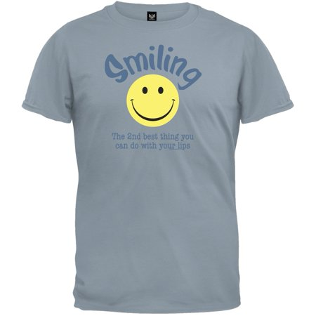 Smiling 2nd Best Thing To Do T-Shirt (Best Thing Anthem Lights)
