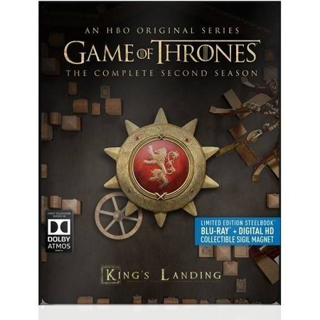 Game Of Thrones  The Complete Second Season  Limited Edition   Steelbook   Blu Ray   Digital Hd