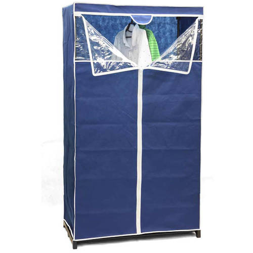 Home Basics Storage Closet, 36-Inch, Navy