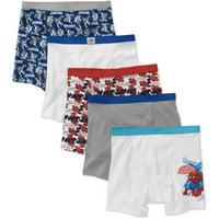 Marvel Comics Amazing Spiderman 5 Pack Boys Boxer Brief Underwear (Little Boys & Big Boys)