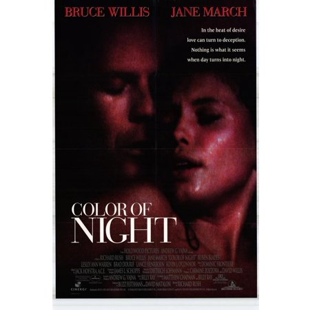 Color Of Night Poster Movie  27X40