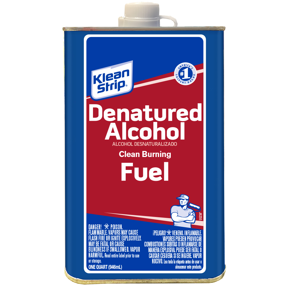 Klean-Strip Denatured Alcohol, 1 Quart
