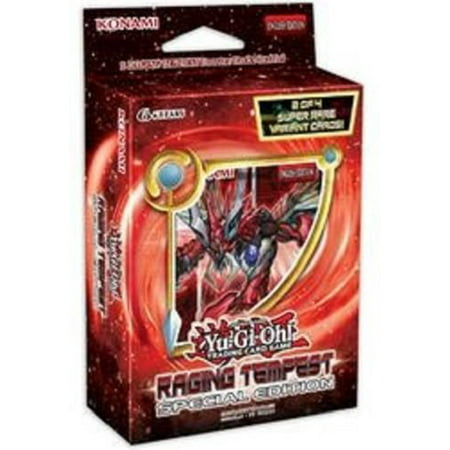 Yugioh Raging Tempest SE Special Edition MINI Booster Box - 3