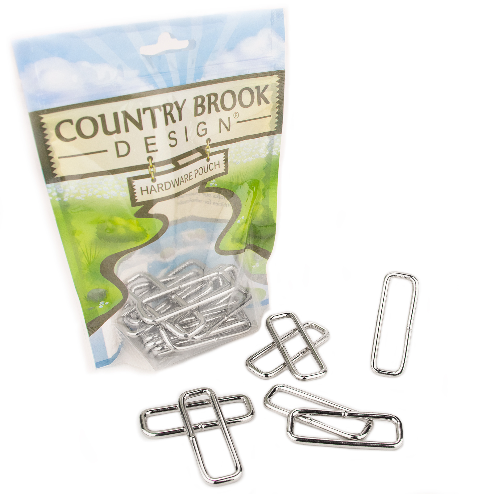 Country Brook Design® 2 Inch Heavy Welded Rectangle Rings