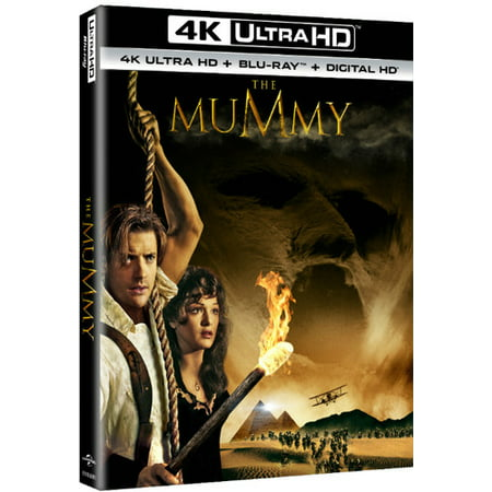 The Mummy  4K Ultra Hd   Blu Ray