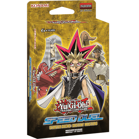 YUGIOH SPEED DUELING DESTINY MASTERS DECKS