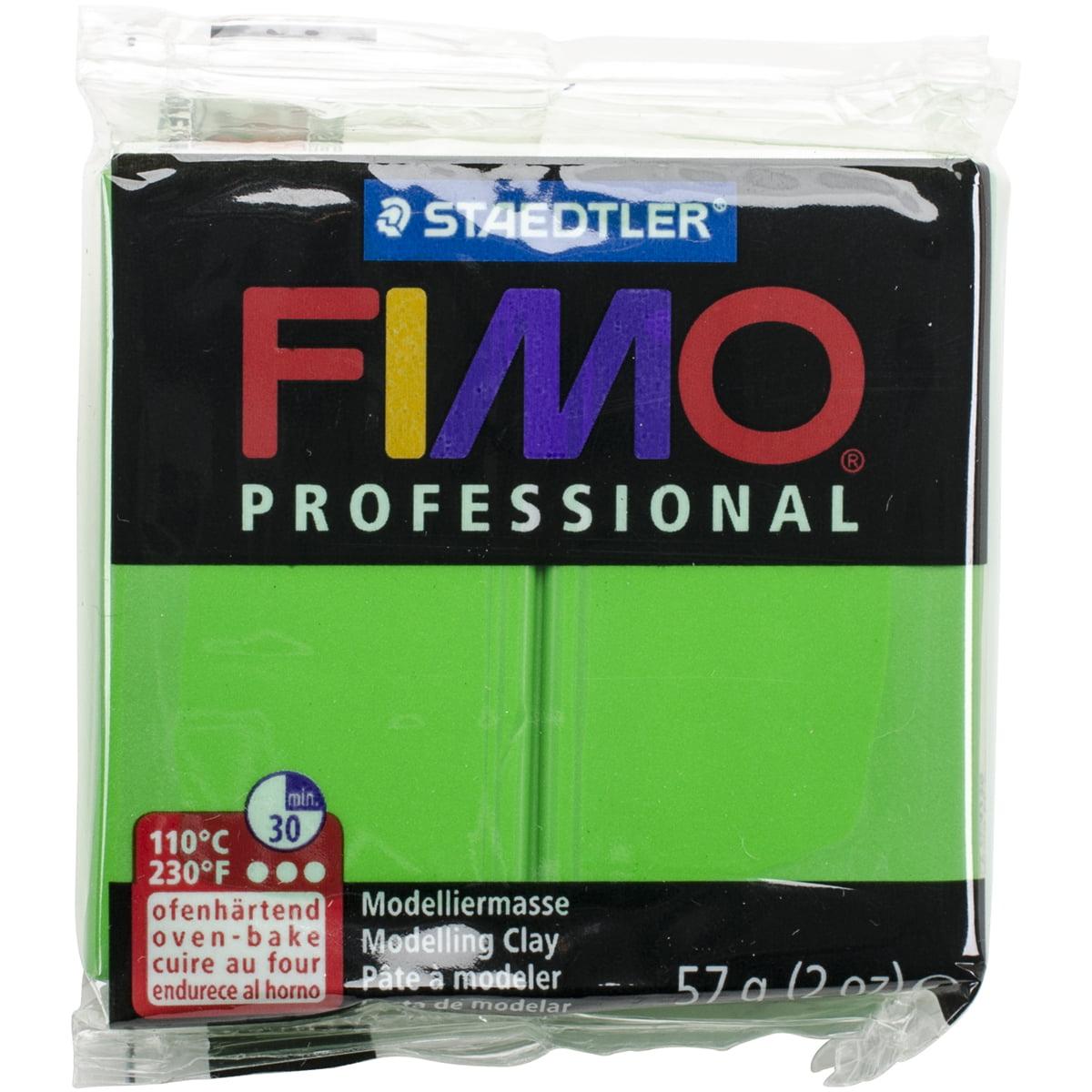 Fimo Professional Soft Polymer Clay 2oz-Sap Green