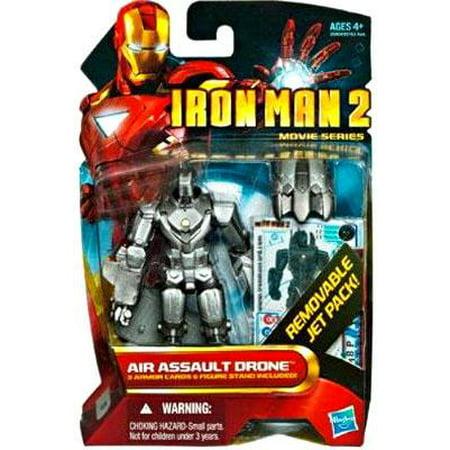 Iron Man Movie Series Air Assault Drone Action Figure