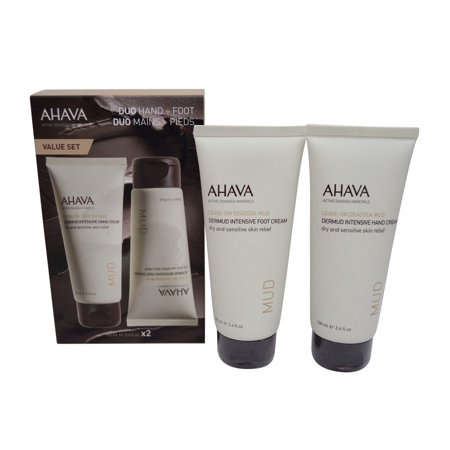 Ahava Dermud Intensive Hand and Foot Cream Duo, 3.4 oz.