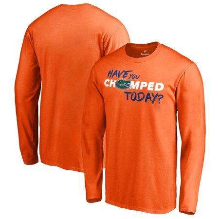 Florida Gators Fanatics Branded Have You Chomped Today Long Sleeve T-Shirt - Orange](Gator Chomp)