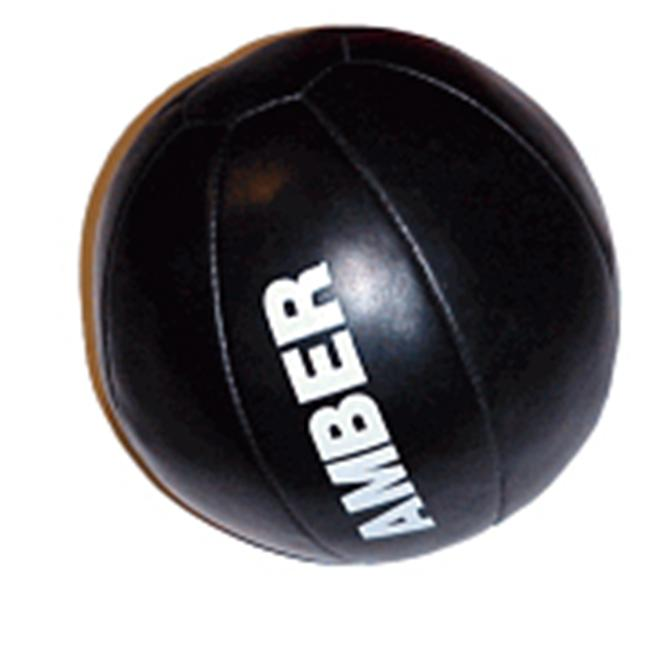 Amber Sporting Goods AMB-3001-25 Leather Medicine Ball 25lb