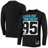Carolina Panthers Majestic Favorable Result Long Sleeve T-Shirt - Black