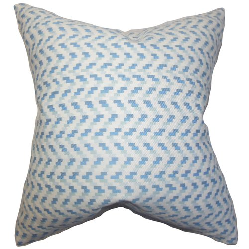 The Pillow Collection Varsha Geometric Cotton Throw Pillow