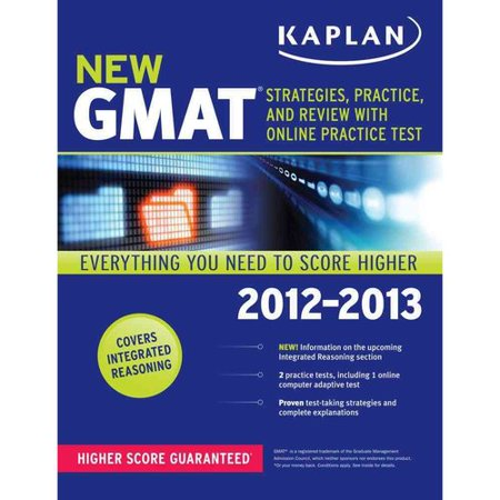 Kaplan New GMAT: Strategies, Practice, and Review [With Access Code]