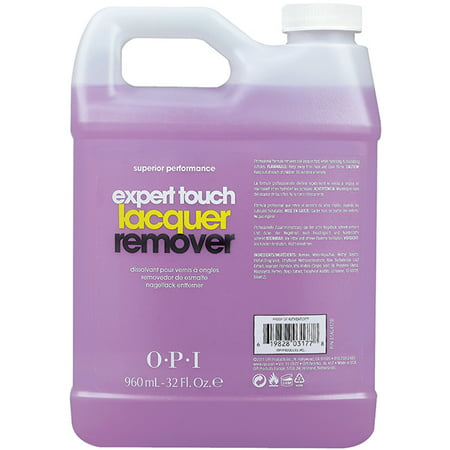 OPI Nail Expert Touch Gel/Polish Remover 32oz/960mL