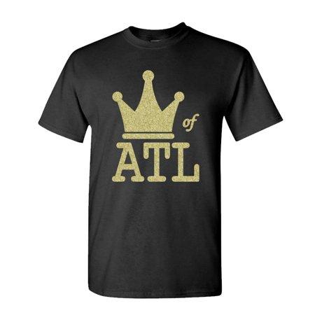 KING OF ATL - hip hop rap music atlanta - Cotton Unisex