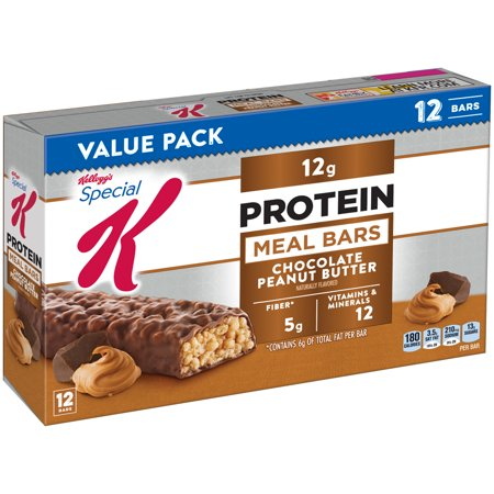 Special K Protein Bars Chocolate Caramel Protein Meal Bars Nutrition