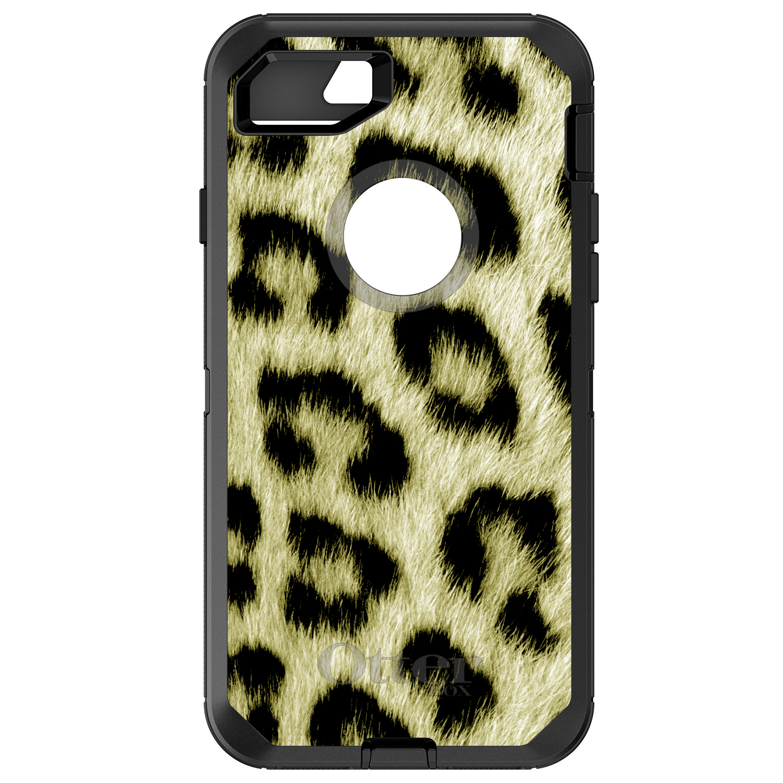DistinctInk™ Custom Black OtterBox Defender Series Case f...