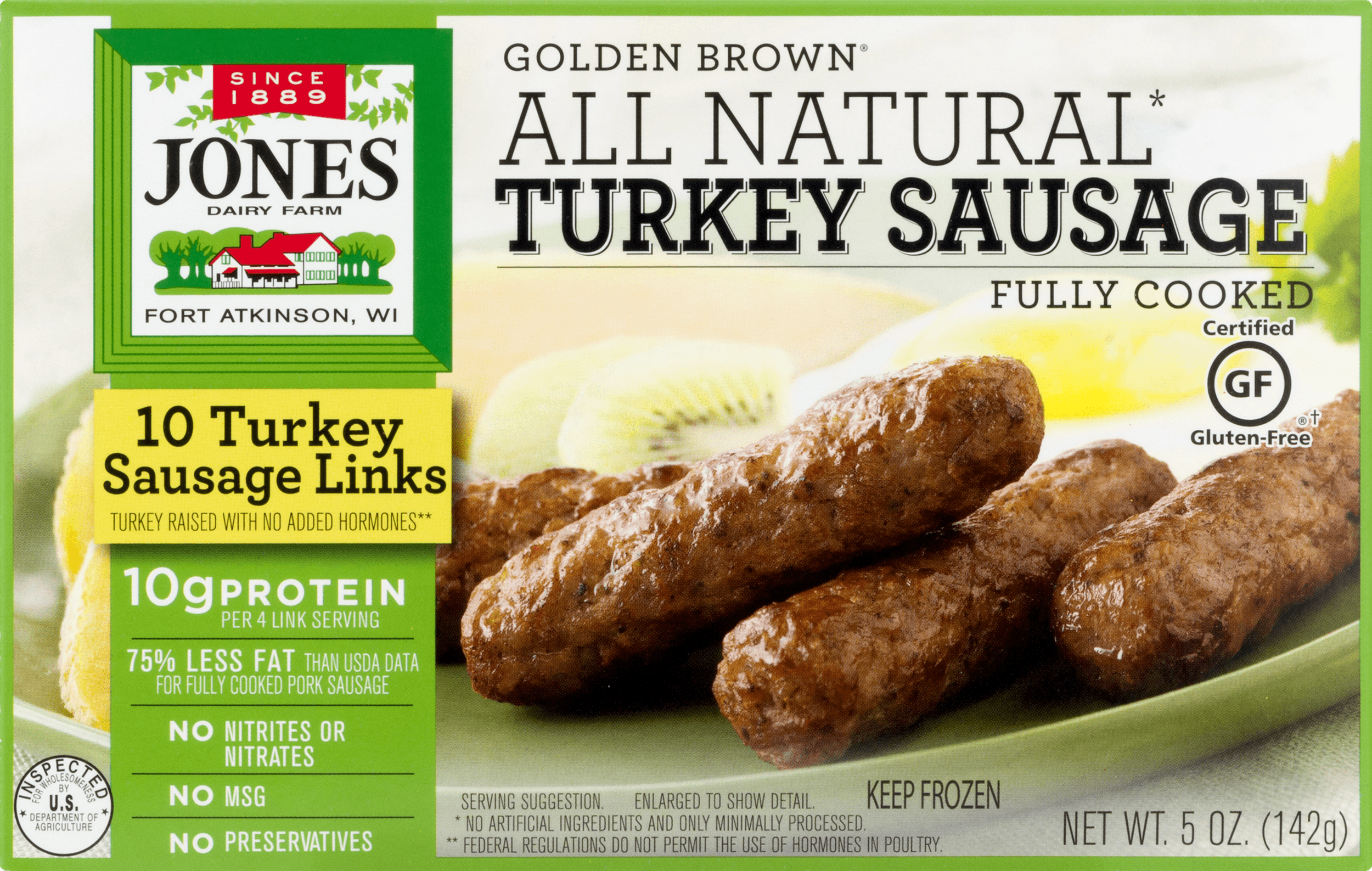 recipe: jones turkey sausage nutritional information [14]