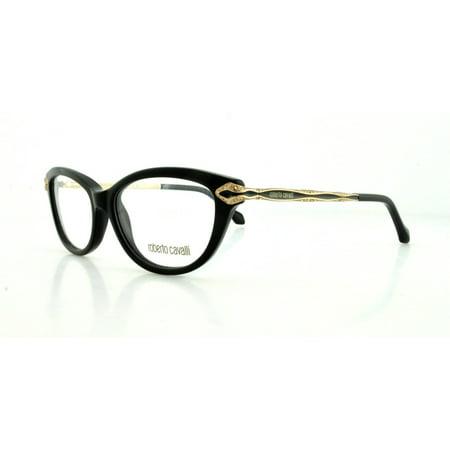 ROBERTO CAVALLI Eyeglasses RC0813 001 Shiny Black