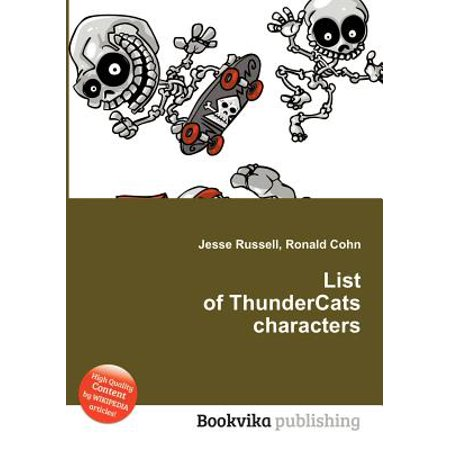 List of Thundercats Characters (Characters In Thundercats)