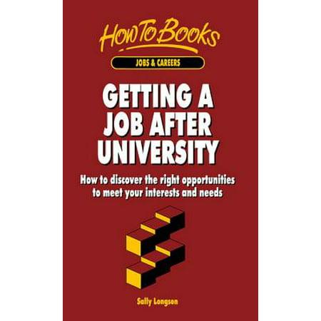 Getting a Job After University - eBook