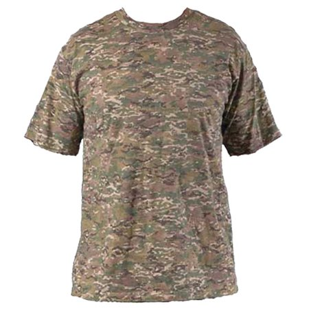 Military Outdoor Clothing Never Issued X-Camo T-Shirt without pocket  (X-Large)