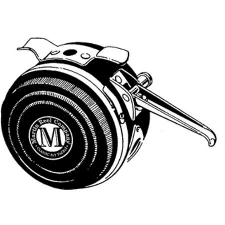 8 martin automatic fly fishing reel 25 yard of 20 lb 10 5 for Automatic fishing reel