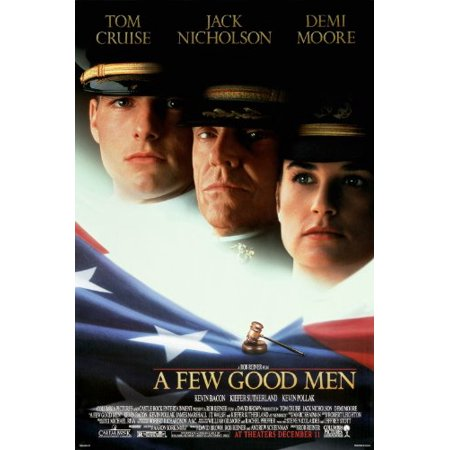 A Few Good Men Movie Poster Tom Cruise Jack Nicholson Demi Moore Drama 24X36