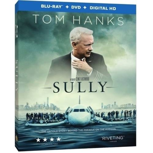 Sully (Blu-ray   DVD   Digital HD With UltraViolet   VUDU Digital Copy) (Walmart Exclusive) (With INSTAWATCH))