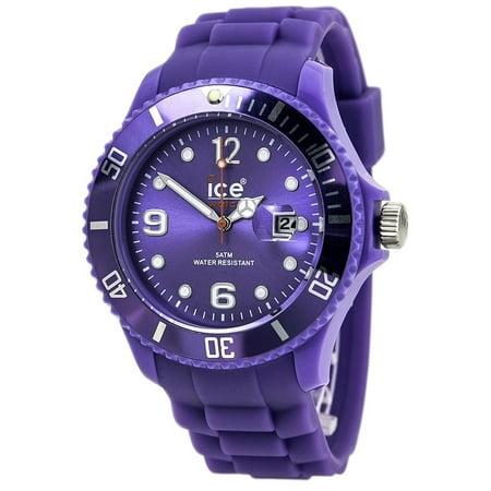Men's Sili Summer Lavender Big Watch (Lavender Watch)
