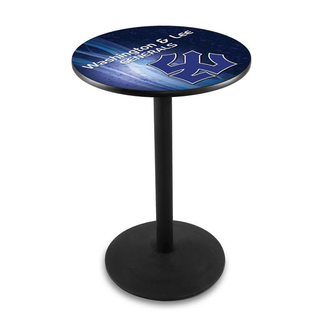 Holland Bar Stool L214B3636WshLee 36 in. Washington & Lee Generals Pub Table with 36 in. Top - image 1 of 1