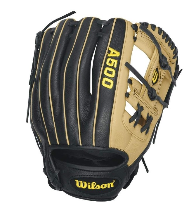"Wilson A500 All-Positions Baseball Glove, 11.5"" by Wilson"