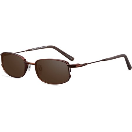 EasyTwist Mens Prescription Glasses, CT133 Brown