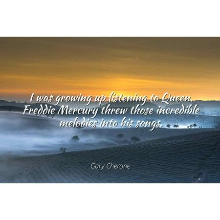 Gary Cherone I Was Growing Up Listening To Queen Freddie Mercury