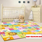 Baby Play Mat - Large Double Sides Non-Slip Waterproof Portable For Playroom