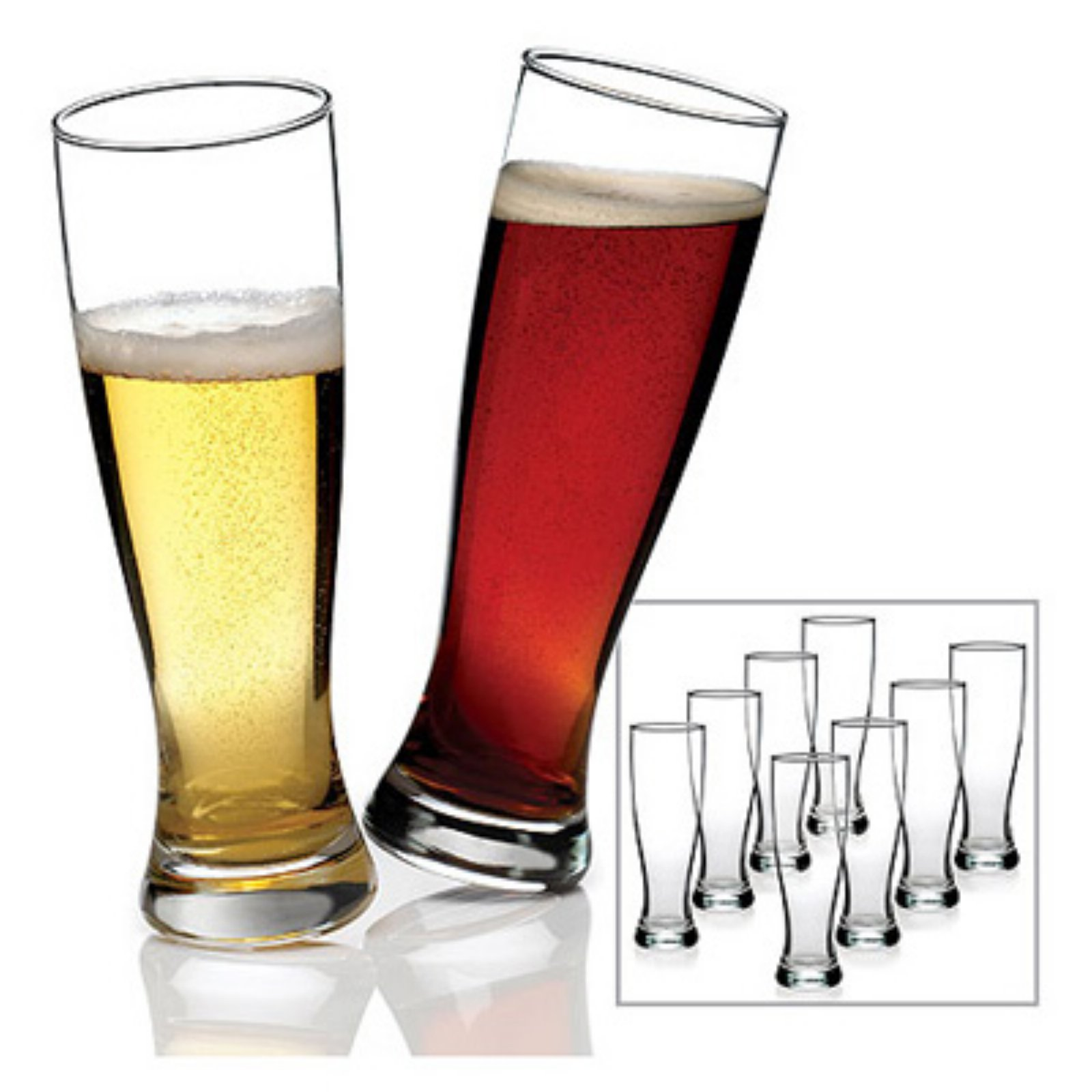Anchor Hocking 8-piece Grand Pilsner Glass Set