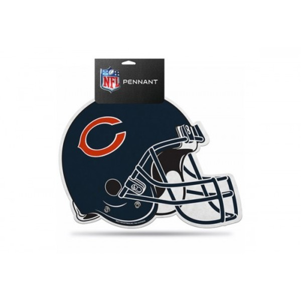Chicago Bears Die Cut Pennant
