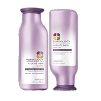 Pureology Hydrate Sheer Shampoo And Conditioner 8.4oz