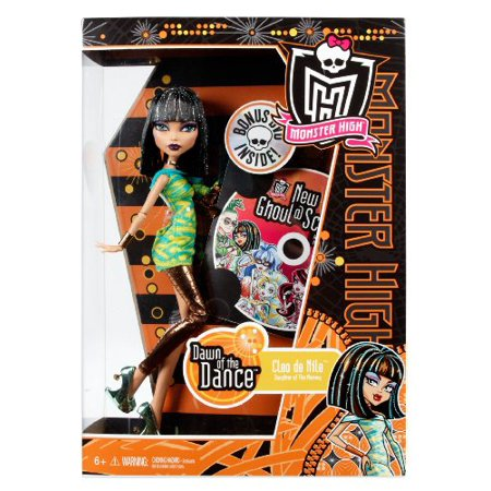 Monster High Dawn of the Dance Cleo De Nile Exclusive 10.5