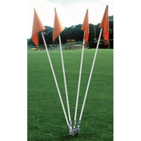 Step Down Soccer Corner Flags - Set of 4 (Soccer Corner Coupons)