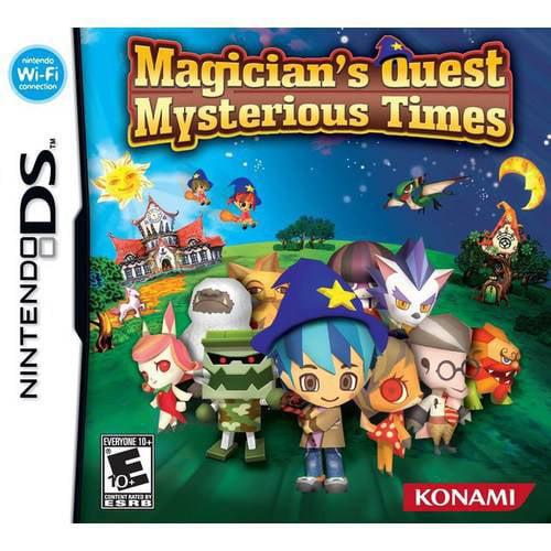 Konami magician's quest: mysterious times - nintendo ds