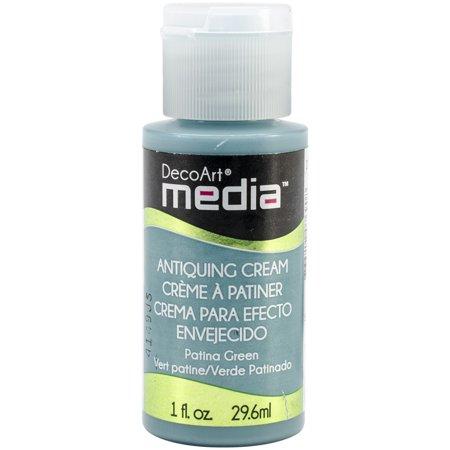 Media Antiquing Cream 1oz-Patina Green