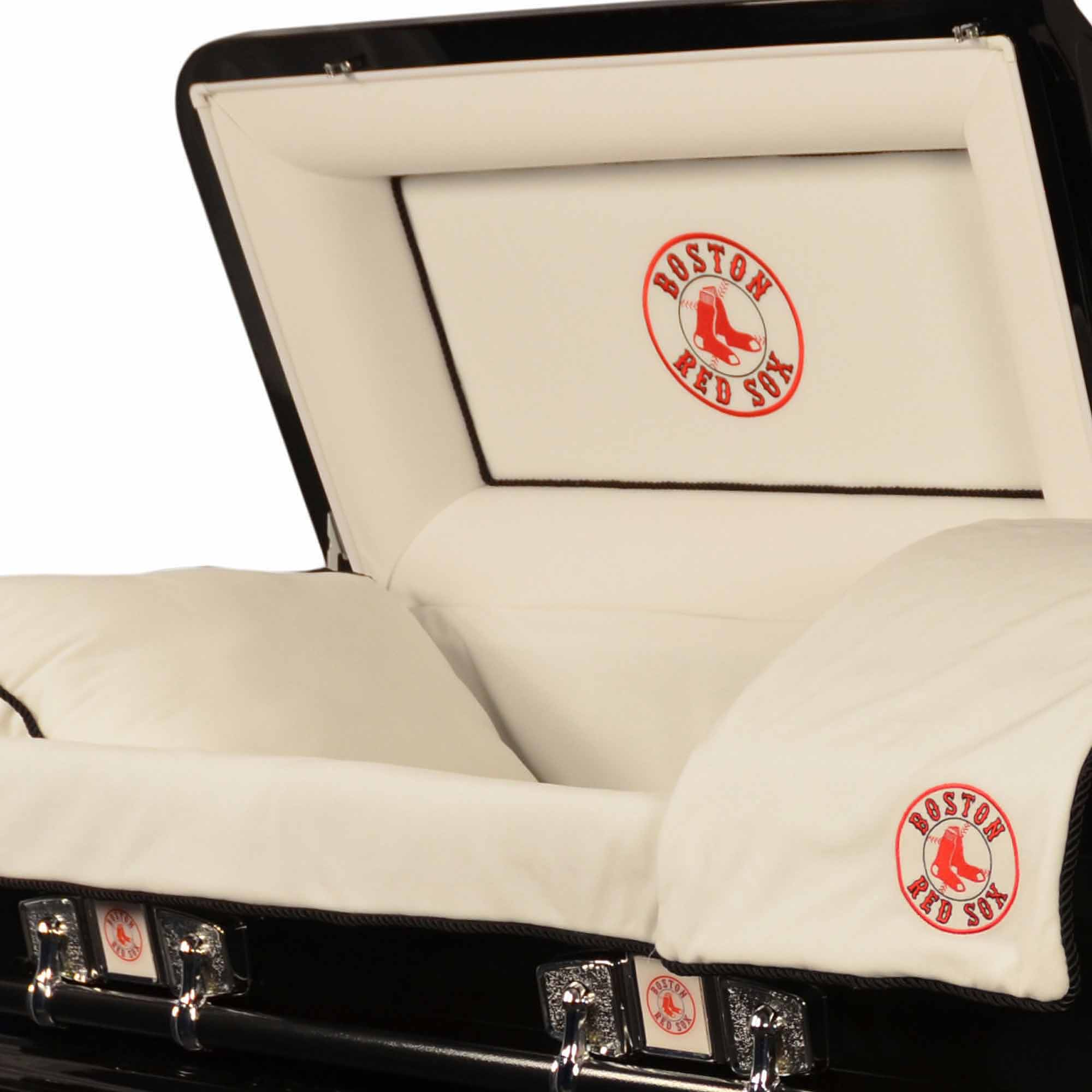 Official Major League Baseball Casket Boston Red Sox