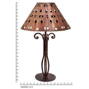 Jezebel Gallery Tribal 22.25'' Table Lamp