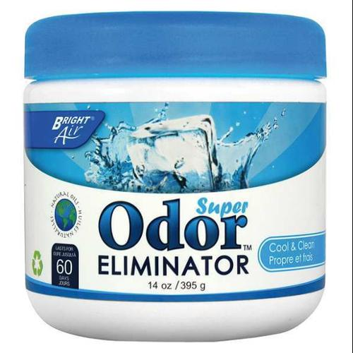 BRIGHT AIR BRI 900090 Deodorizer, 14 oz., Plastic Jar, PK 6
